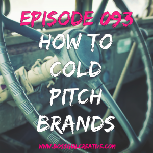 how to cold pitch brands