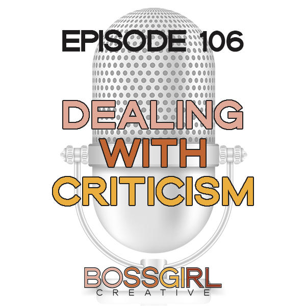 EPISODE 106 - DEALING WITH NEGATIVITY