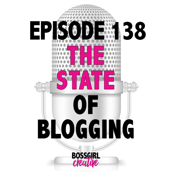 EPISODE 138 - THE STATE OF BLOGGING ADDRESS