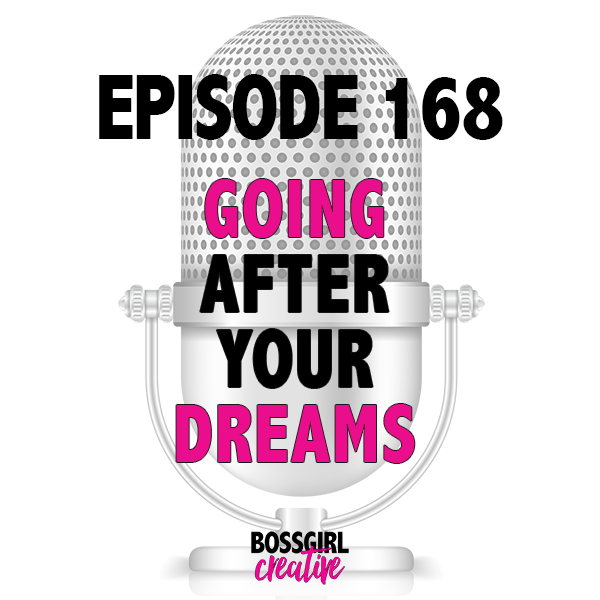What's holding you back from actually grabbing ahold of your dreams? Take a listen to Episode 168 to get some inspo to lasso in your dreams!