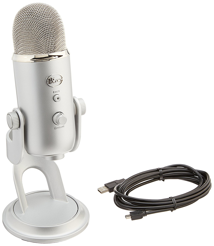 Blue Yeti Microphone - Boss Girl Creative