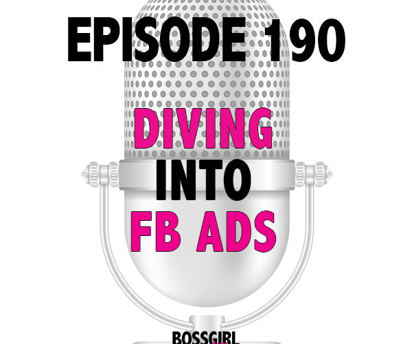 Ready to dive into your first facebook ad? I'm here to make it easy!! Take a listen and take some notes because this is your crash course into FB ads!