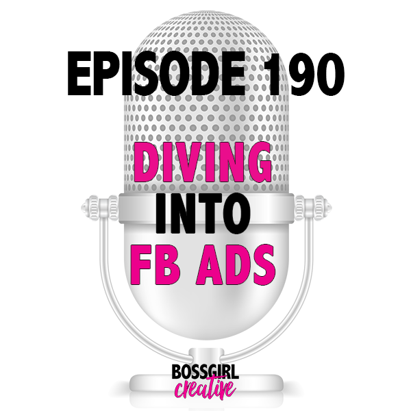 Ready to dive into creating your first facebook ad? I'm here to make it easy!! Take a listen and take some notes because this is your crash course into FB ads!