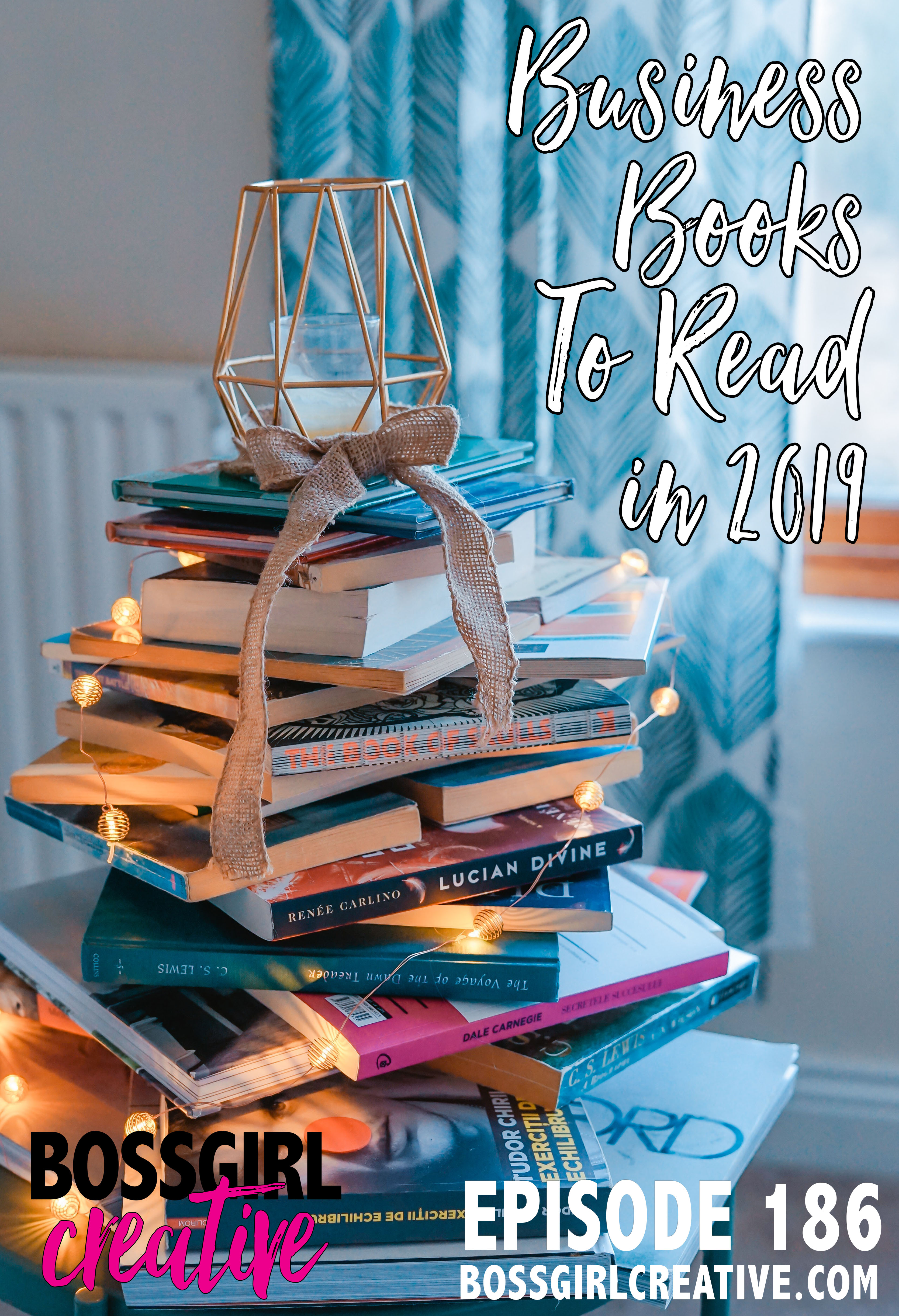 Looking to grow in your business and blog in 2019? Check out the books I've got on my list and some others my BGC Community is recommending.