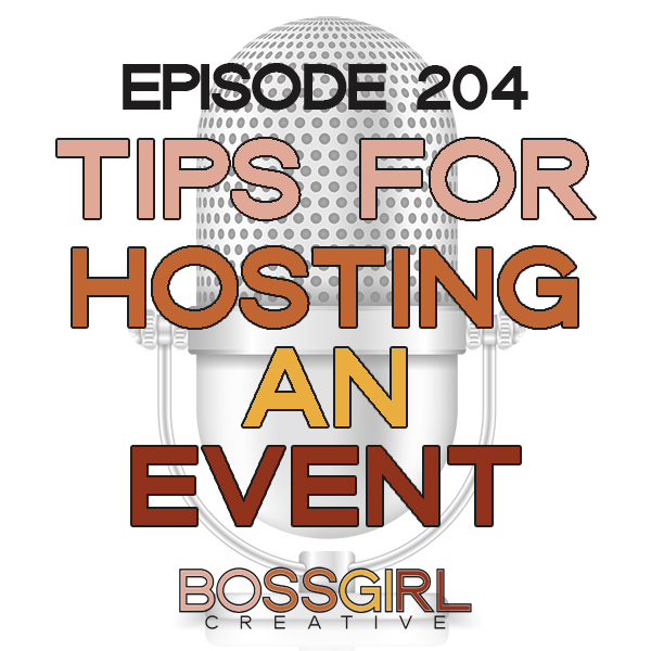 Looking to host an event for creatives? Take a listen to this episode to learn some tips on how to host a successful event for creatives based on my own experience!