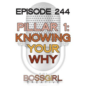 EPISODE 244 - PILLAR SERIES: KNOWING YOUR WHY