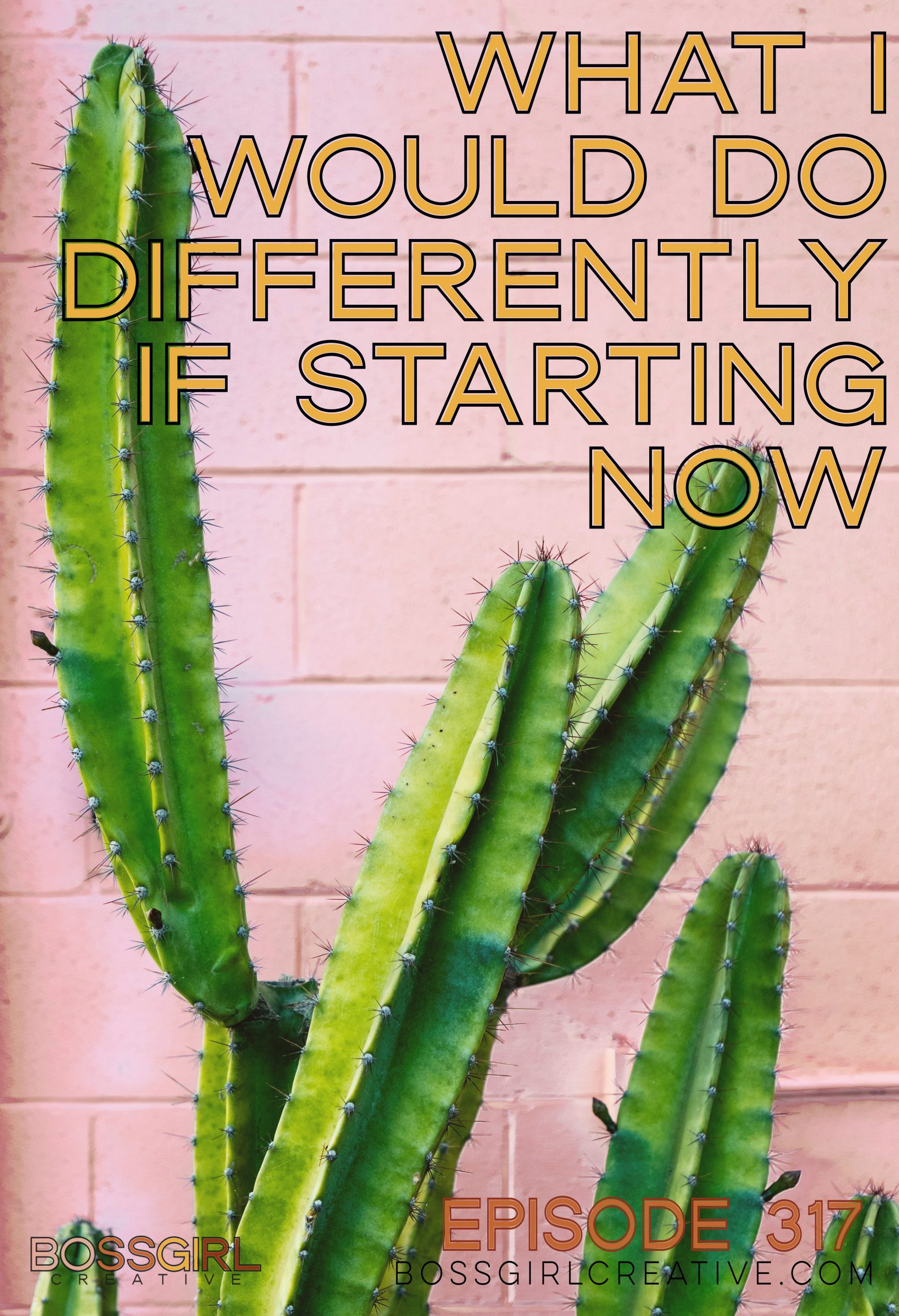 BGC Episode 317 - What I Would Do Differently If Starting Now